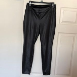 Faux Leather Leggings size Medium Wild Fable brand